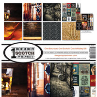 Reminisce - One Bourbon, One Scotch, One Whiskey Collection - 12 x 12 Collection Kit