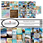 Reminisce - Bucket List Collection - 12 x 12 Collection Kit