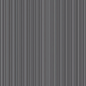 Reminisce - Black and White Collection - Patterned Paper - Basic Stripe, CLEARANCE