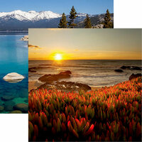 Reminisce - California Collection - 12 x 12 Double Sided Paper - Big Sur