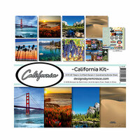 Reminisce - California Collection - 12 x 12 Collection Kit