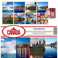 Reminisce - Canada Collection - 12 x 12 Collection Kit