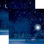 Reminisce - Christmas Eve Collection - 12 x 12 Double Sided Paper - White Christmas