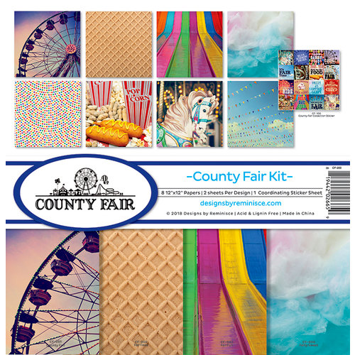 Reminisce - County Fair Collection - 12 x 12 Collection Kit