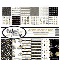 Reminisce - 12 x 12 Collection Kit - Christmas Greetings