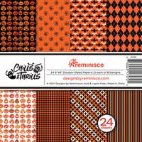 Reminisce - Chills and Thrills Collection - 6 x 6 Paper Pad
