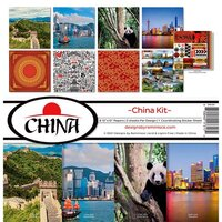 Reminisce - China Collection - 12 x 12 Collection Kit