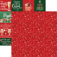Reminisce - Christmas Wishes Collection - 12 x 12 Double Sided Paper - Wishes