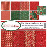 Reminisce - Christmas Wishes Collection - 12 x 12 Collection Kit