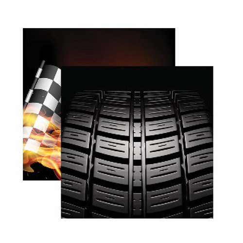 Reminisce - Checkered Flag Collection - 12 x 12 Double Sided Paper - That