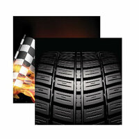 Reminisce - Checkered Flag Collection - 12 x 12 Double Sided Paper - That's How I Roll