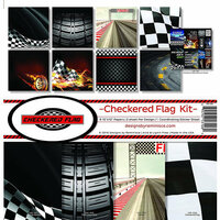Reminisce - Checkered Flag Collection - 12 x 12 Collection Kit