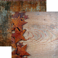Reminisce - Country Life Collection - 12 x 12 Double Sided Paper - Rustic Beauty