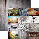 Reminisce - Country Life Collection - 12 x 12 Double Sided Paper - Country Life