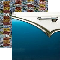 Reminisce - Classic Cars Collection - 12 x 12 Double Sided Paper - Fabulous Fifties