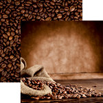 Reminisce - Coffee and Tea Collection - 12 x 12 Double Sided Paper - Caffeinate
