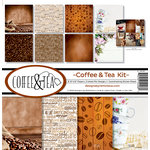 Reminisce - Coffee and Tea Collection - 12 x 12 Collection Kit
