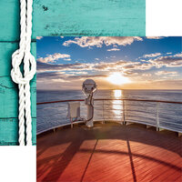 Reminisce - Cruise Life Collection - 12 x 12 Double Sided Paper - On Deck