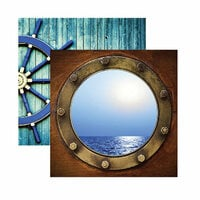 Reminisce - Caribbean Cruise Collection - 12 x 12 Double Sided Paper - Port of Call