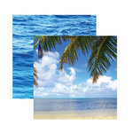 Reminisce - Caribbean Cruise Collection - 12 x 12 Double Sided Paper - Tropical Dreams