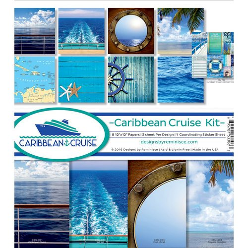 Reminisce - Caribbean Cruise Collection - 12 x 12 Collection Kit