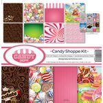 Reminisce - Candy Shoppe Collection - 12 x 12 Collection Kit