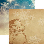Reminisce - Christmas Spirit Collection - 12 x 12 Double Sided Paper - Dear Santa