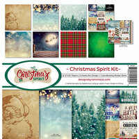 Reminisce - Christmas Spirit Collection - 12 x 12 Collection Kit