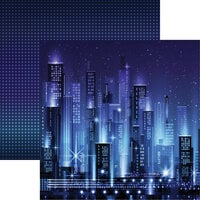 Reminisce - City Lights Collection - 12 x 12 Double Sided Paper Metropolis