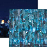 Reminisce - City Lights Collection - 12 x 12 Double Sided Paper City Lights