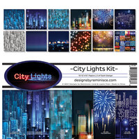 Reminisce - City Lights Collection - 12 x 12 Collection Kit