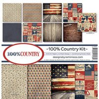 Reminisce - 100 Percent Country Collection - 12 x 12 Collection Kit
