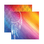 Reminisce - Dreamcatcher Collection - 12 x 12 Double Sided Paper - Dreamcatcher