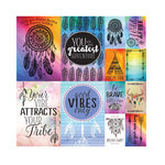 Reminisce - Dreamcatcher Collection - 12 x 12 Cardstock Stickers - Poster