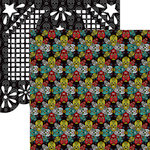 Reminisce - Dia De Los Muertos Collection - 12 x 12 Double Sided Paper - Day of The Dead