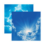 Reminisce - Devoted Faith Collection - 12 x 12 Double Sided Paper - His Glory