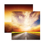 Reminisce - Devoted Faith Collection - 12 x 12 Double Sided Paper - The Journey