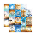 Reminisce - Devoted Faith Collection - 12 x 12 Double Sided Paper - His Word