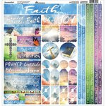 Reminisce - Devoted Faith Collection - 12 x 12 Cardstock Stickers - Multi