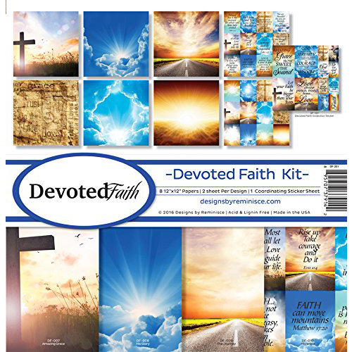 Reminisce - Devoted Faith Collection - 12 x 12 Collection Kit