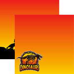 Reminisce - Dinosaur Land Collection - 12 x 12 Double Sided Paper - Dinosaurs