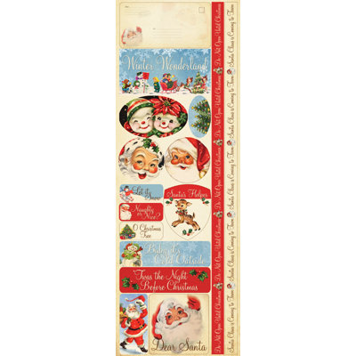 Reminisce - Dear Santa Collection - Christmas - Cardstock Stickers - Combo