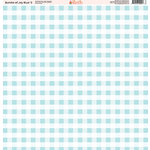 Ella and Viv Paper Company - Bundle of Joy Blue Collection - 12 x 12 Paper - Two
