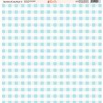 Ella and Viv Paper Company - Bundle of Joy Blue Collection - 12 x 12 Paper - Two