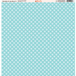 Ella and Viv Paper Company - Bundle of Joy Blue Collection - 12 x 12 Paper - Nine