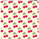 Ella and Viv Paper Company - Cherry Blast Collection - 12 x 12 Paper - One