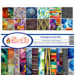 Ella and Viv Paper Company - Modern Art Collection - 12 x 12 Collection Kit