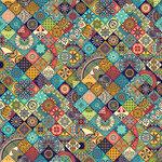 Ella and Viv Paper Company - Spice Market Collection - 12 x 12 Paper - Medina