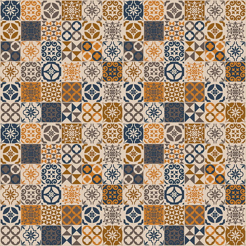 Ella and Viv Paper Company - Spice Market Collection - 12 x 12 Paper - Mosaique