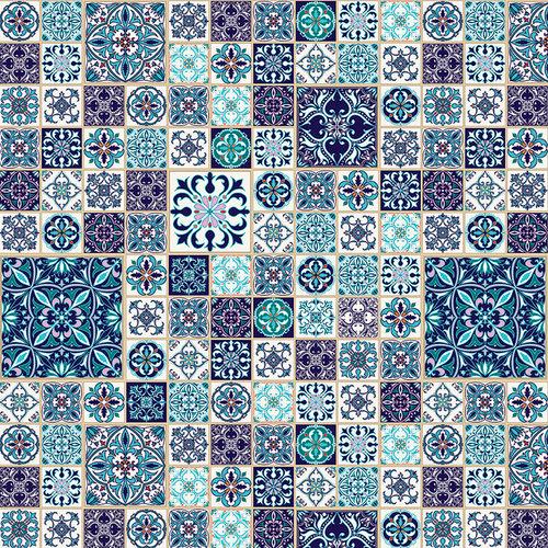 Ella and Viv Paper Company - Spice Market Collection - 12 x 12 Paper - Talavera